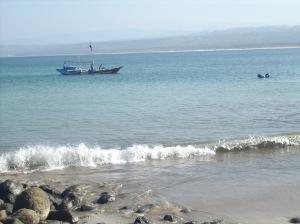 pantai santolo yg menakjubkan