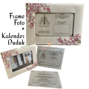 Undangan Kalender dan Frame Pigura Photo Foto AimDesain 085220795095