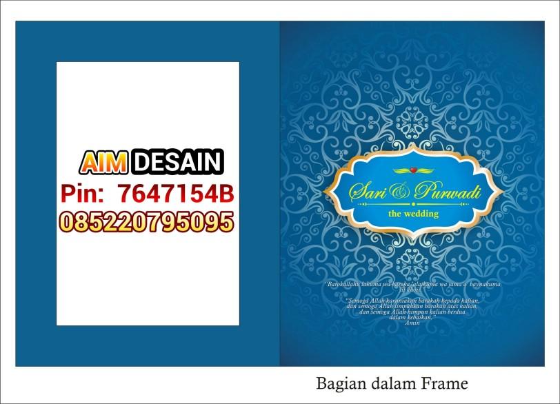 Undangan Frame softcover